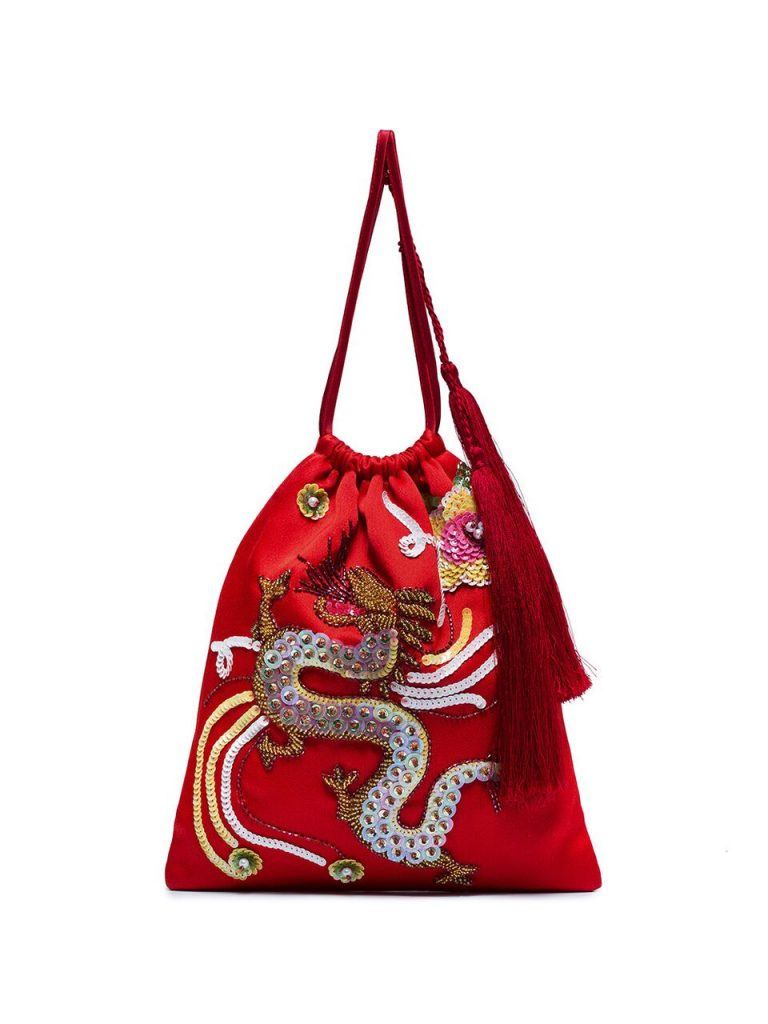 Sequin-Dragon-Pouch-Bag