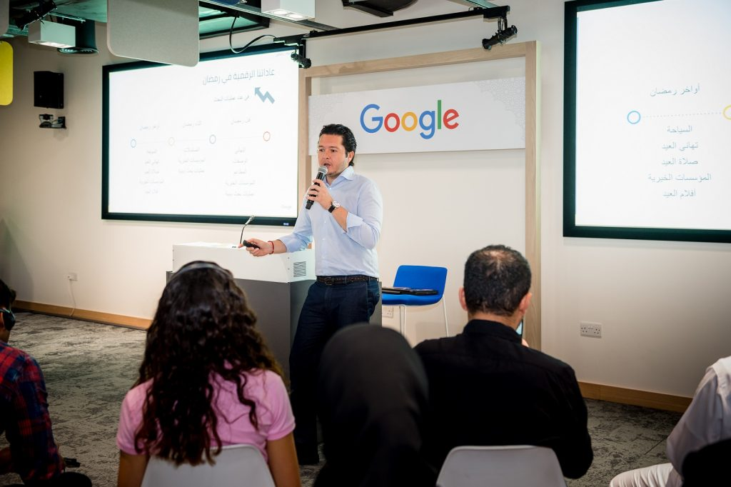 Tarek Abdalla, Head of Marketing for Google MENA