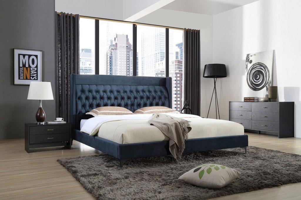 ديكور-غرفة -نوم-باللون-االجراي