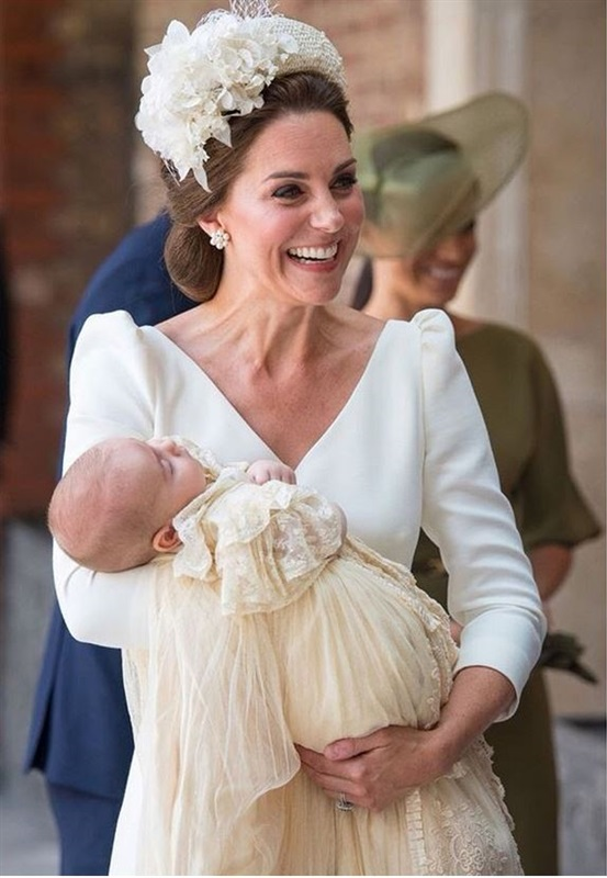 كيت ميدلتون مع الأمير لويس
