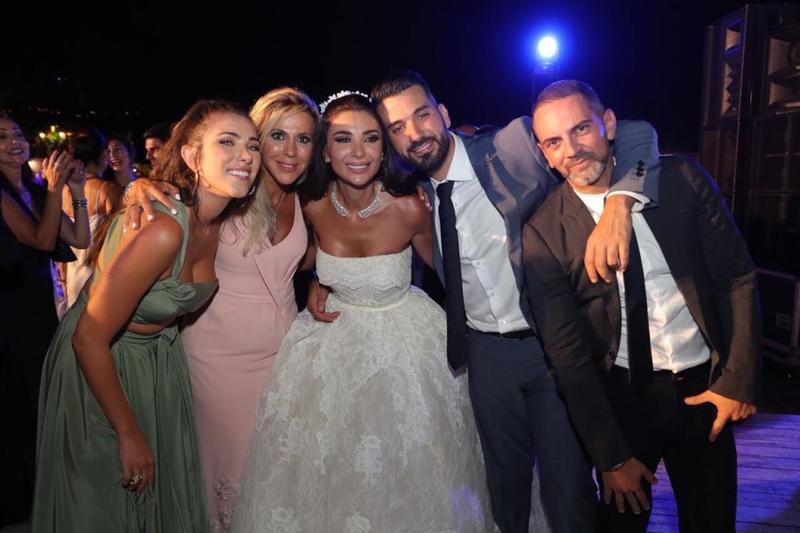 حفل- زفاف -إلين- وطفا
