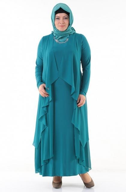 فستان-باللون-الازرق