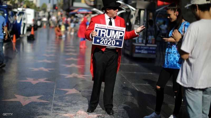 شخص مجهول يدمر نجمة دونالد ترامب في ممشى المشاهير بهوليوود