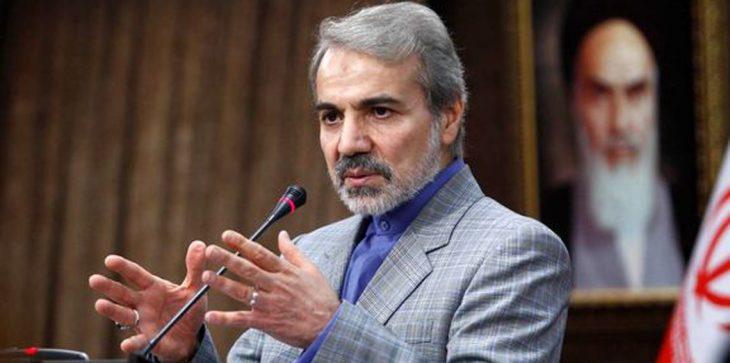الموساد جند نجل المتحدث باسم الحكومة الإيرانية