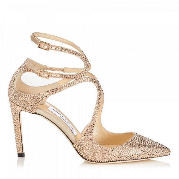 أحذية_باللون_الذهبي