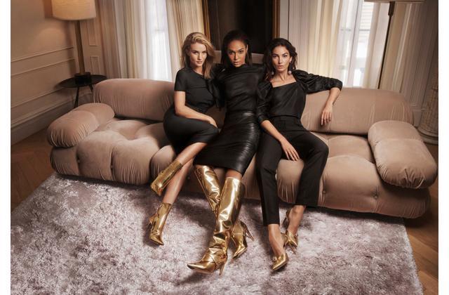 احذية-ذهبية