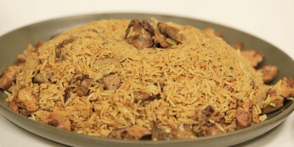 أرز بسمتي بالخلطة