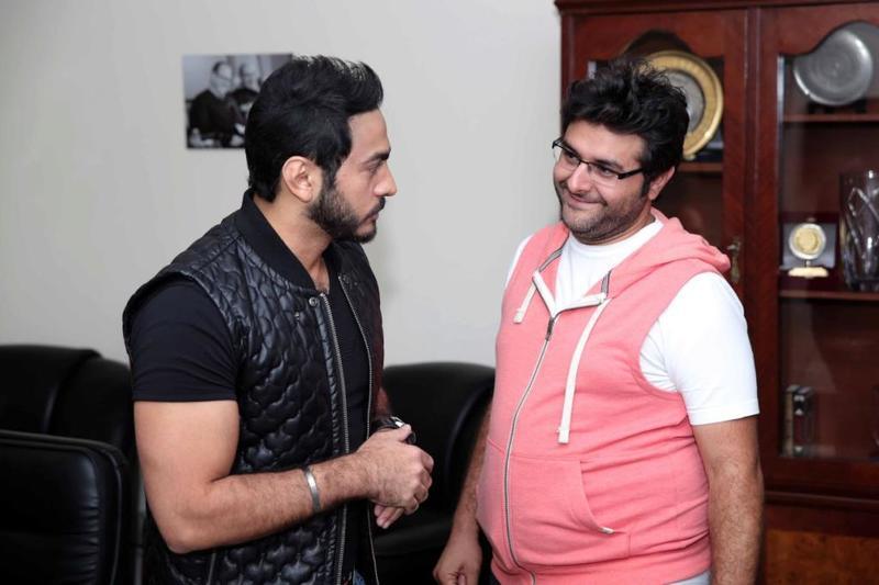 الخلاف بين محمد رمضان ووليد منصور في النيابة العامة اليوم مشاهير