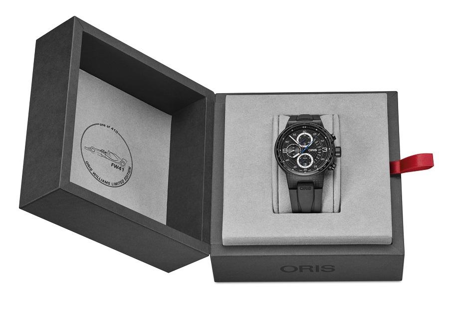ساعة ويليامز FW41 من أوريس