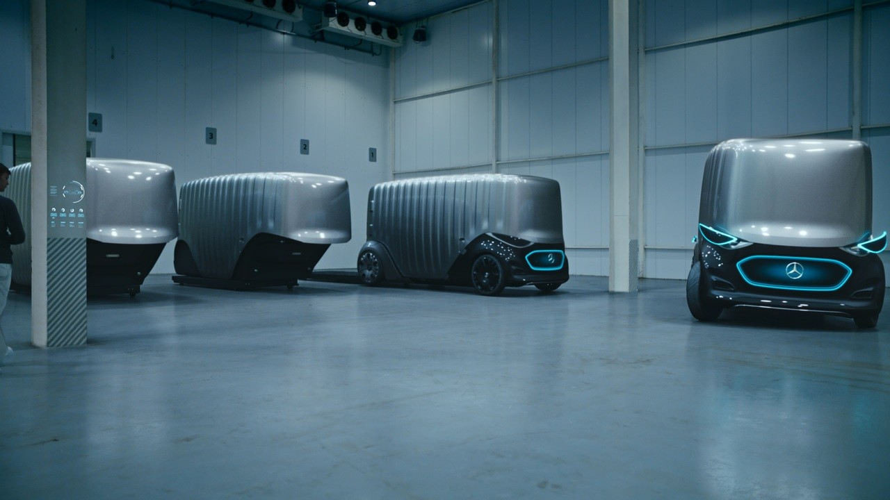 مرسيدس تستعرض سيارتها المستقبلية