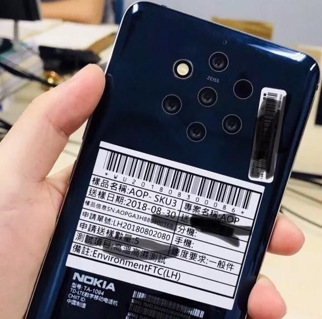 نوكيا تطرح هاتف جديد مزود بـ 5 كاميرات