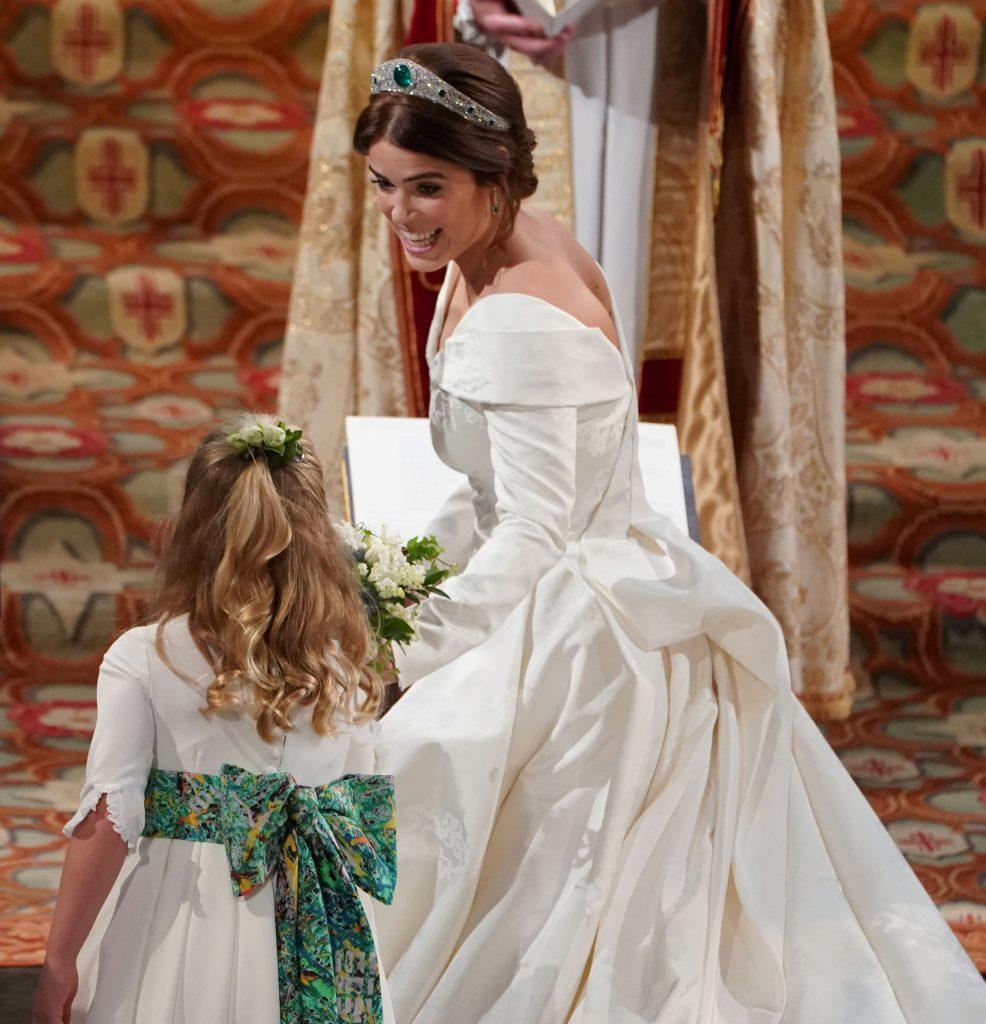 الأميرة-يوجينى-بفستان-الزفاف