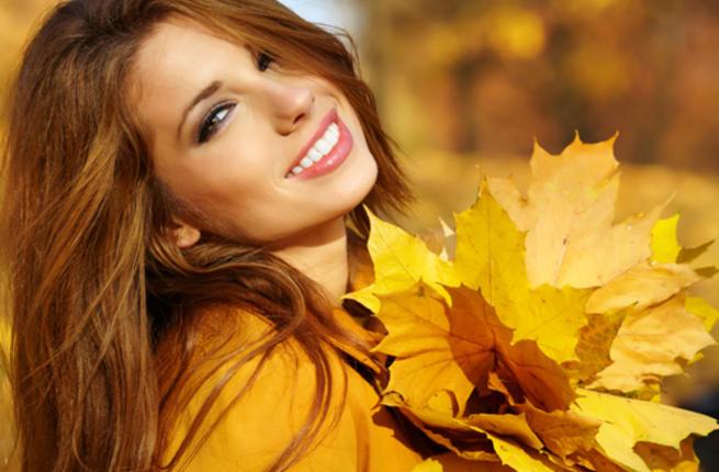العناية بالبشرة الجافة في الخريف