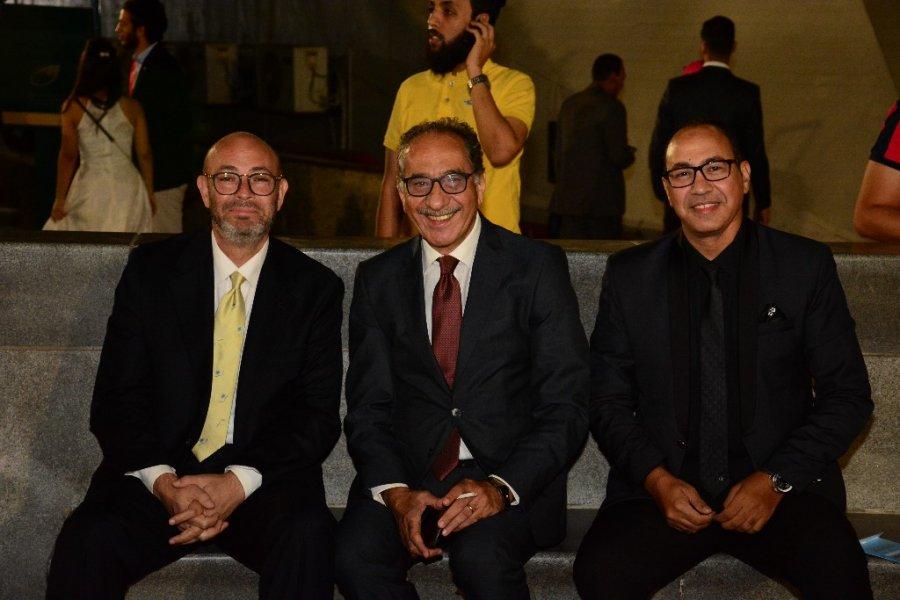 المخرج-محمد-ابو-داوود-مع-المخرج-عمرو-عابدين-والمخرج-عادل-اديب