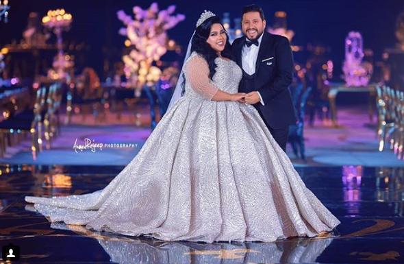 شيماء سيف وزوجها محمد كارتر
