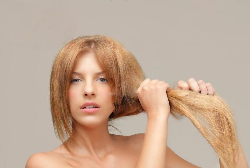 علاج جفاف الشعر