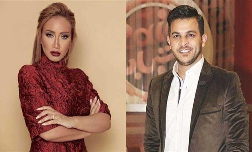 محمد رشاد ينفعل على ريهام سعيد