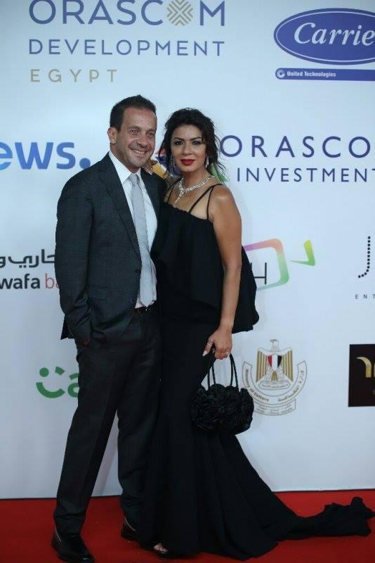 نجلاء-بدر-مع-زوجها-في-مهرجان-الجونة