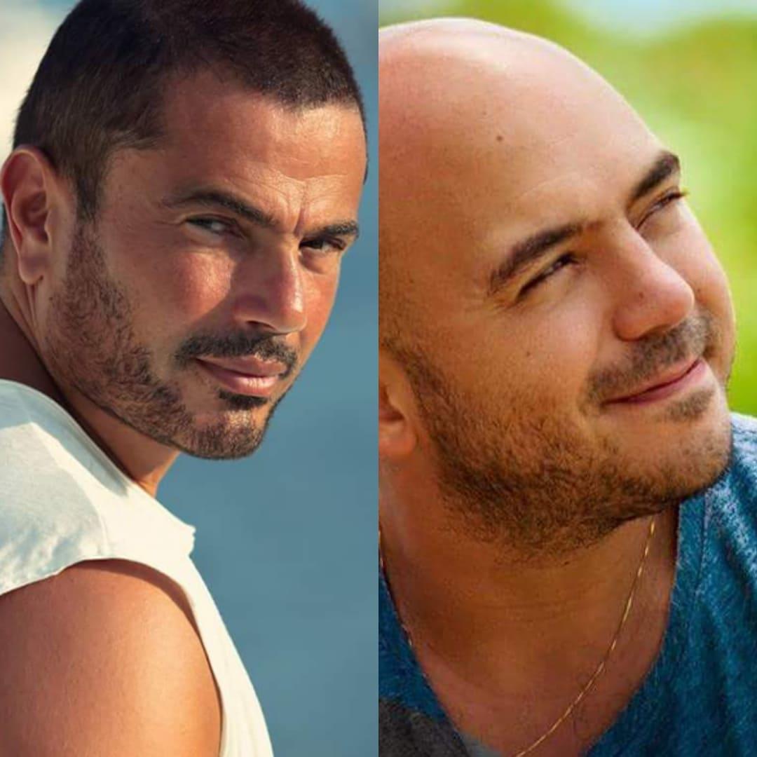 عمرو دياب و محمود العسيلي