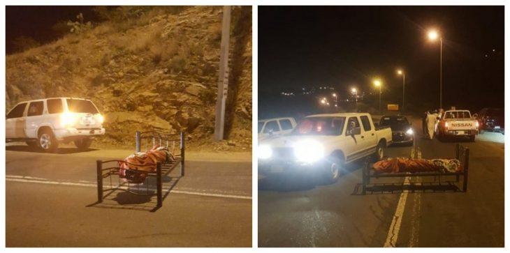 العثور على جثة مربوطة بسرير في طريق عام بأحد شوارع السعودية