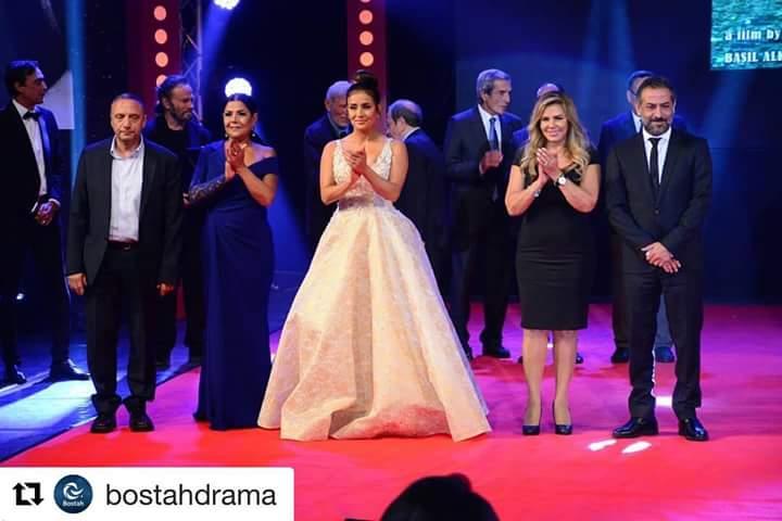 تكريم كندة حنا في مهرجان الإسكندرية السينمائي