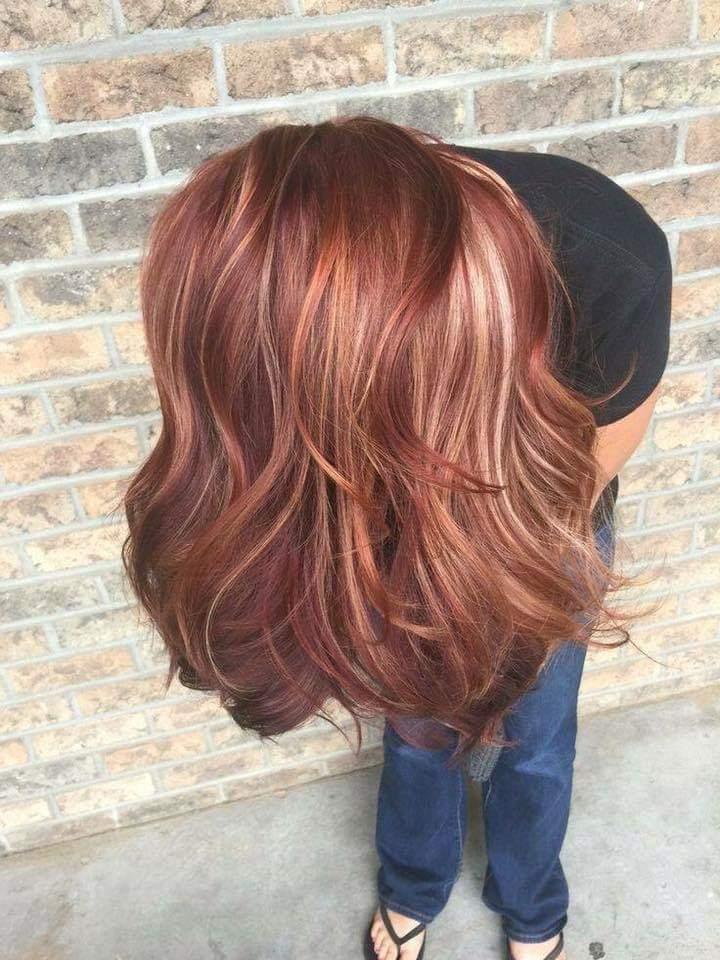 موضة الشعر النحاسي لخريف ٢٠١٨