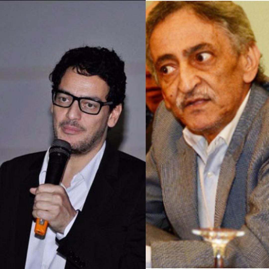 المخرج أحمد يحيى، وخالد أبو النجا
