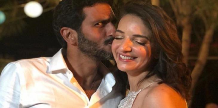 بالصور والفيديو .. زفاف مفاجئ لممثل يهودي وإعلامية عربية مسلمة