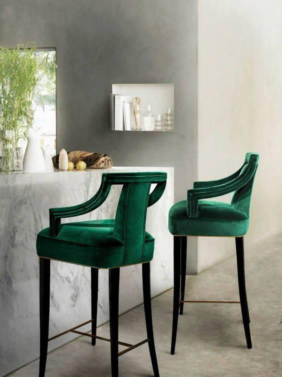 الكراسي-الخضراء-المخملية