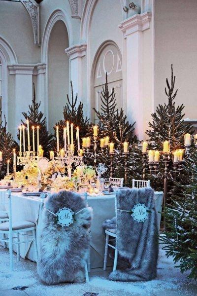 ديكور-شتوي-لحفلات-الزفاف