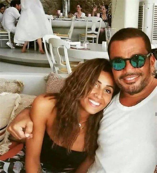 عمرو-دياب-مع-دينا-الشربيني