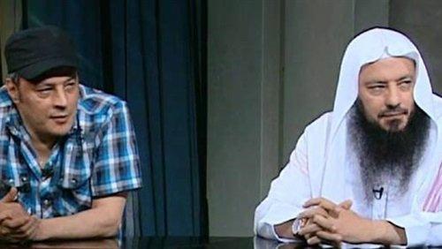 عمرو عبد الجليل مع شقيقه