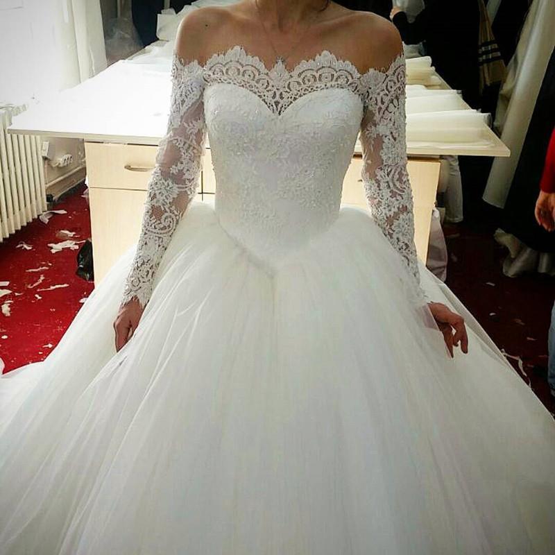 فساتين-زفاف-دانتيل