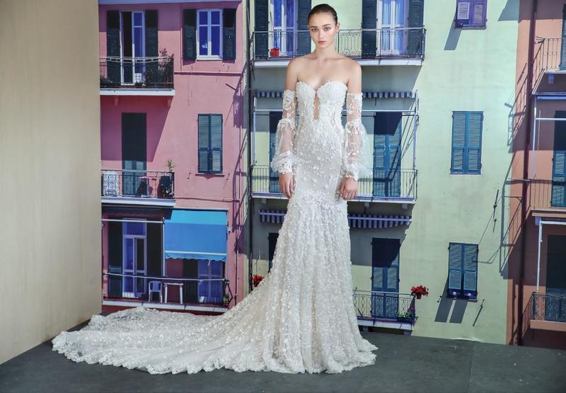 فستان-زفاف-منقوش