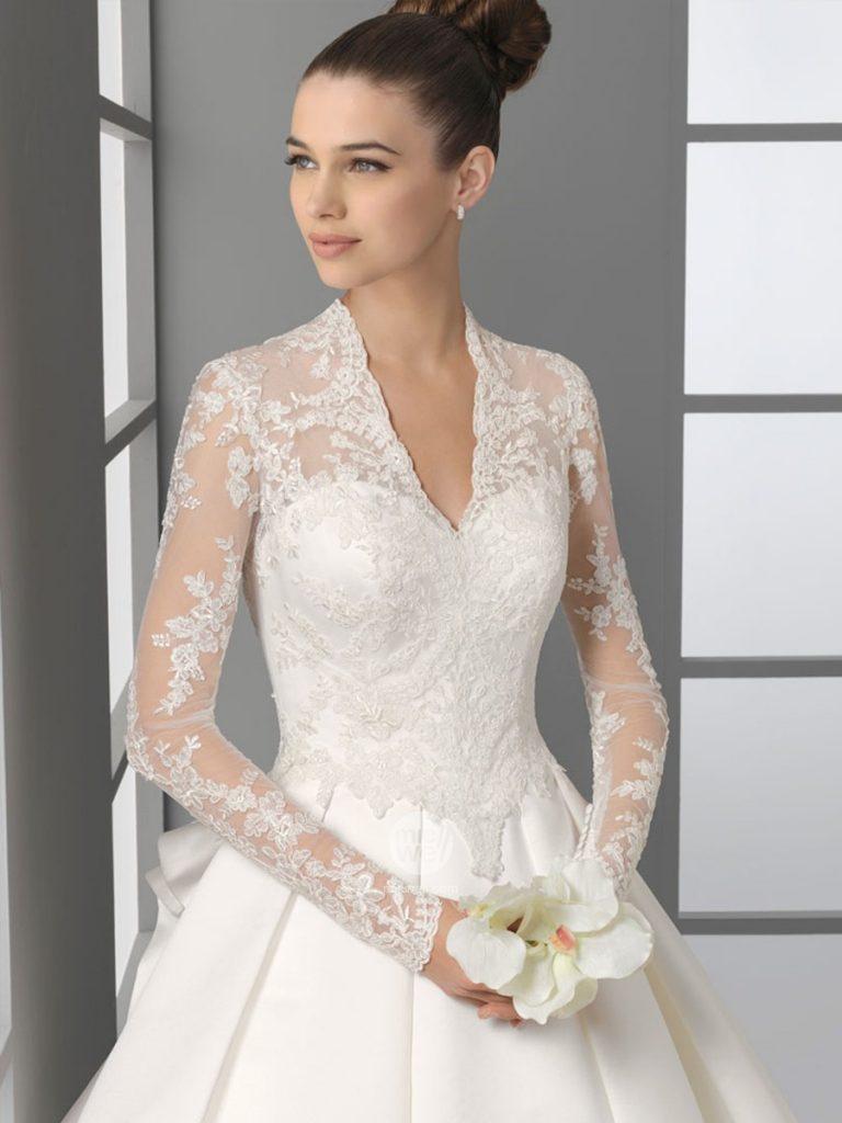 فستان-عروس-دانتيل