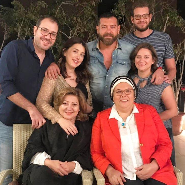 كندة-علوش-وعمرو-يوسف-مع-العائلة