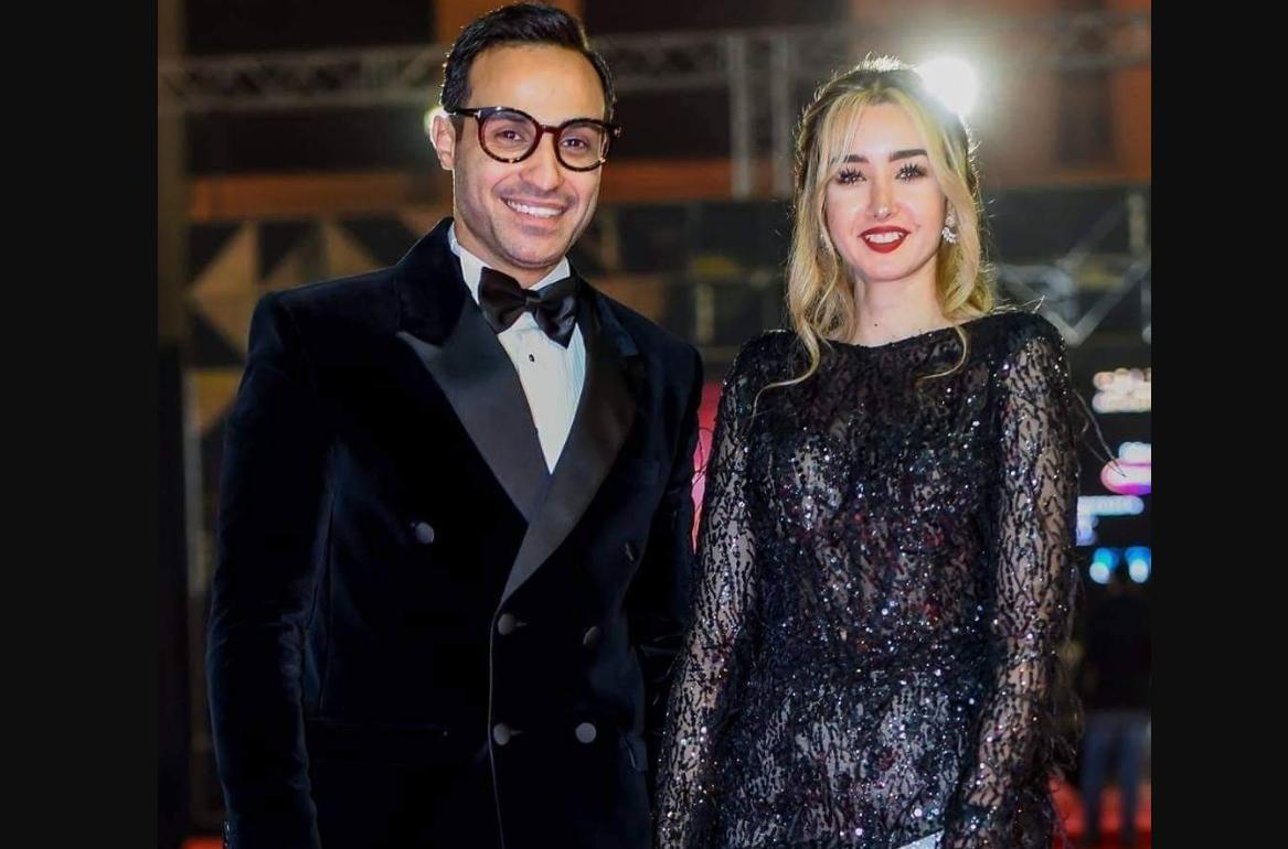 هنا الزاهد وخطيبها أحمد فهمي