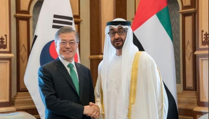 بالصور.. كوريا الجنوبية تشارك الإمارات احتفالاتها باليوم الوطني الـ 47