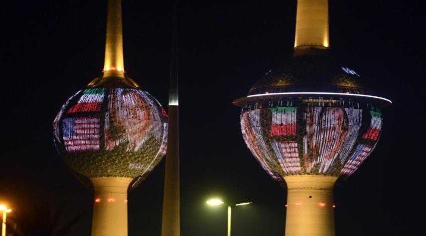 الكويت تطفئ أنوار أبراجها حدادا على وفاة بوش الأب
