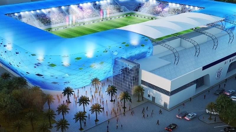 إستاد آل مكتوم يستضيف المباراة الودية بين الإمارات والكويت الجمعة المقبلة