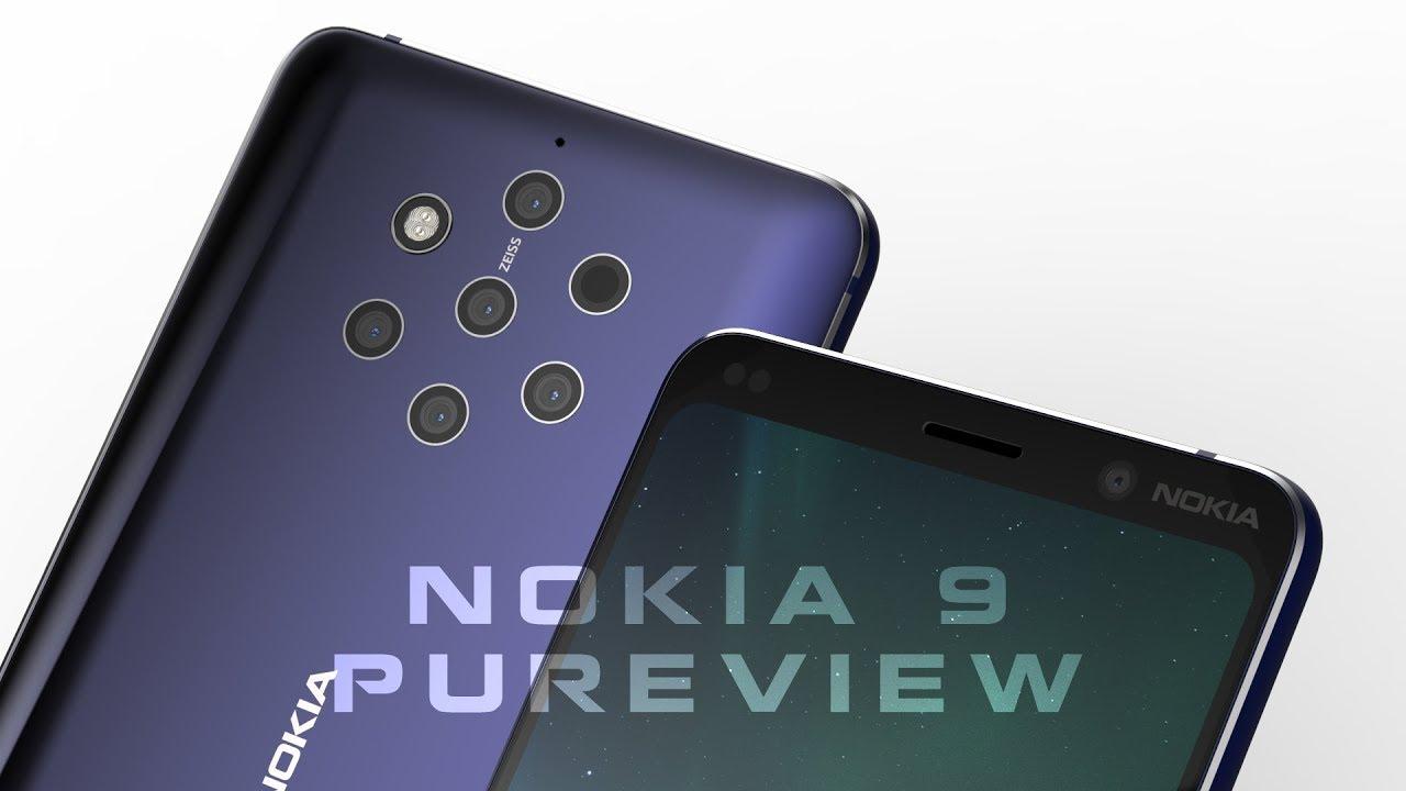 شركة نوكيا تطلق هاتفا بـ 5 كاميرات فائقة!