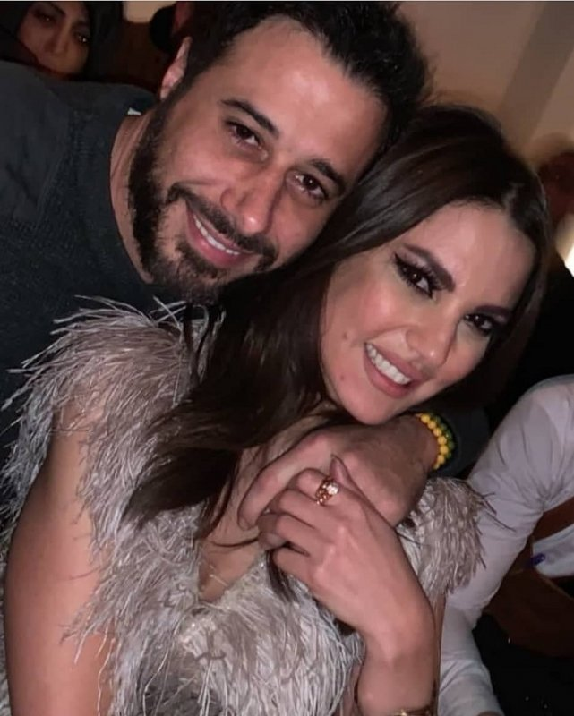 احمد-السعدني-مع-درة-زروق