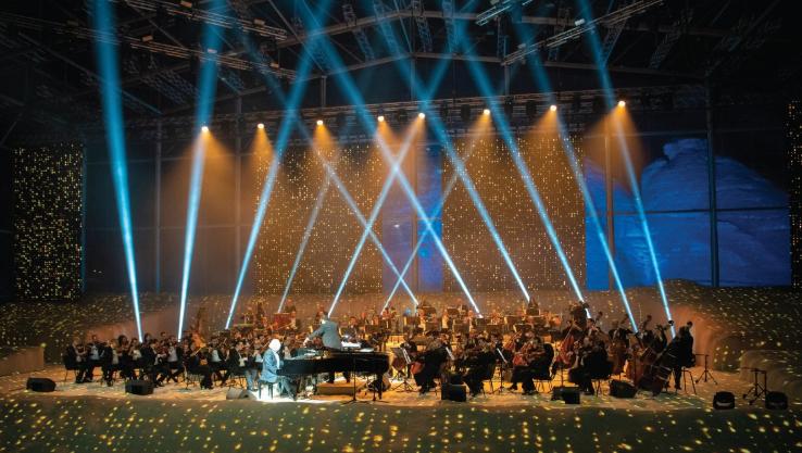 الحفل-الموسيقى-الأول-فى-السعودية-للموسيقار-عمر-خيرت