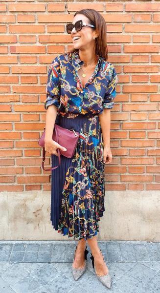 فستان-مزين-بالسلاسل-الذهبية