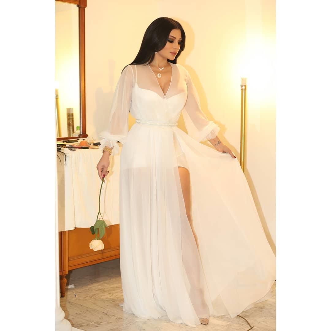 فستان هيفاء وهبي