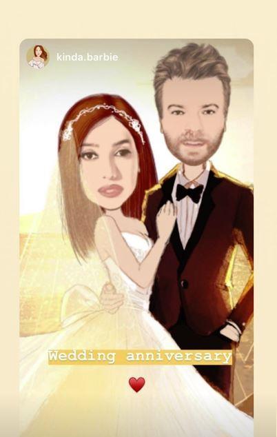 كندة-علوش-تحتفل-مع-زوجها-عمرو-يوسف-بذكرى-زواجهما- (5)