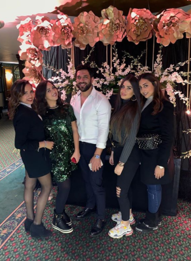 من صور حفل عيد ميلاد الرداد