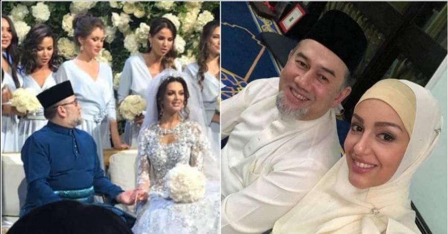 ما حقيقة طلاق ملك ماليزيا لـ ملكة جمال روسيا بعد ضياع العرش ؟!