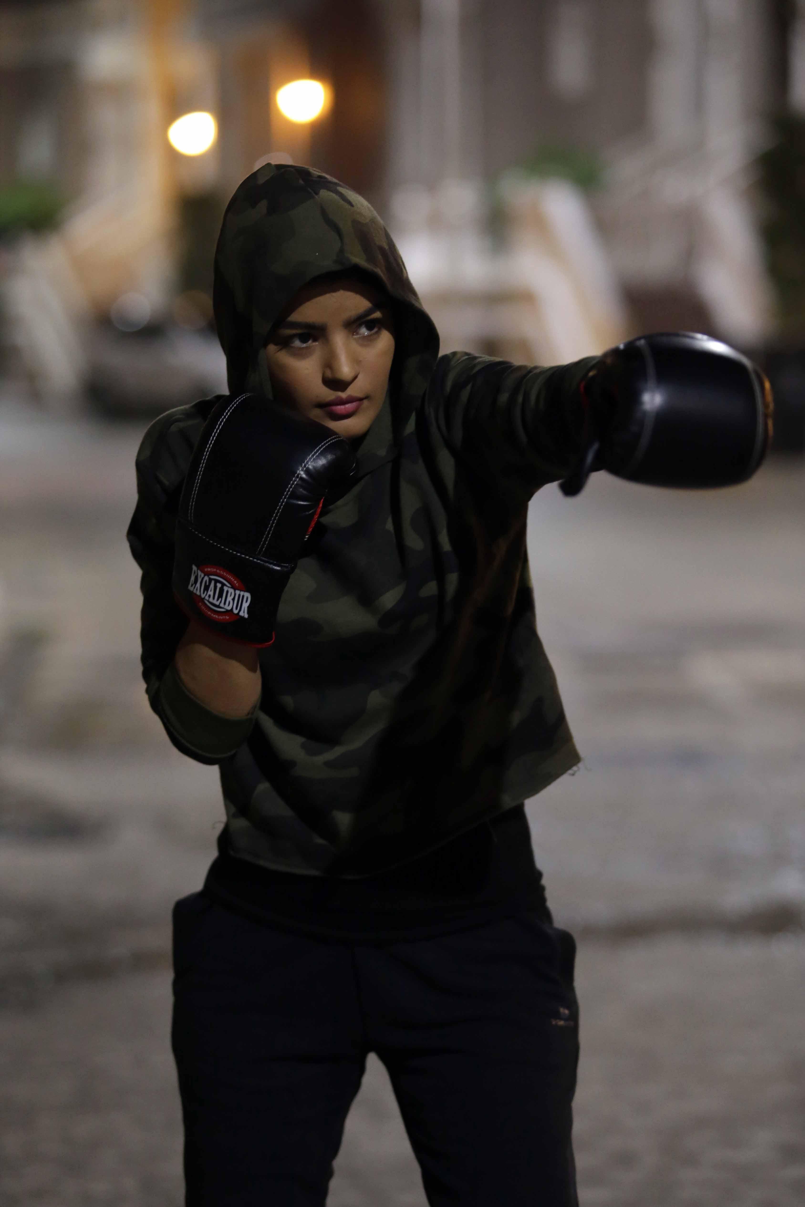 MBC STUDIOS- O3 Productions- New Saudi Series BOXING GIRLS- Mila Al Zahrani (2)