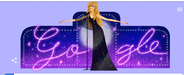 احتفال جوجل بميلاد داليدا